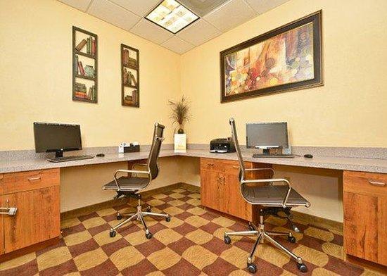 Comfort Suites Willowbrook / Technology Corridor : business center
