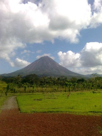 The Motmot Jungle: Arenal Volcano noon view