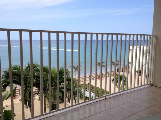 Villa Cofresi Hotel :                                     View from room 318
