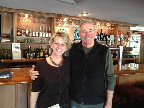 Wayside Grill:                   Terry & Denise, owners