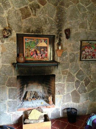 Posada de Santiago:                   Stone cottage