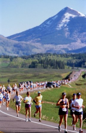steamboat marathon most scenic run in the rockies picture of