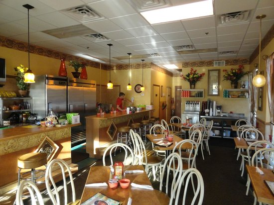 Britt's Cafe:                   Feel the warmth and comfort of the cafe!