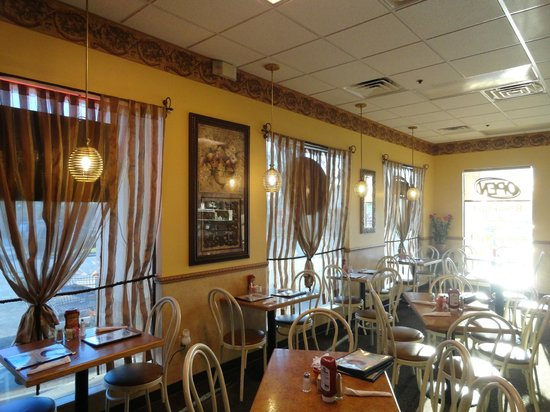Britt's Cafe:                   You'll feel right at home.