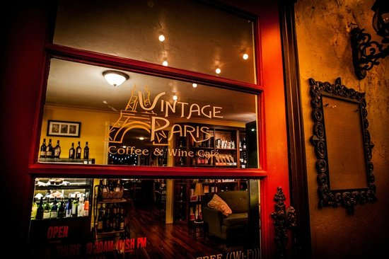 Vintage Paris Coffee and Wine Cafe: The Red Door