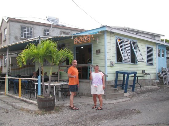 Rockley, Barbados: Shakers