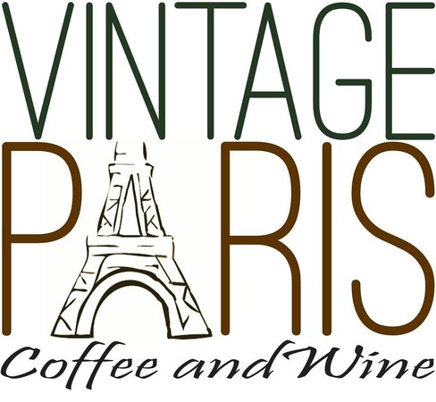 Vintage Paris Coffee and Wine Cafe: Badge Logo
