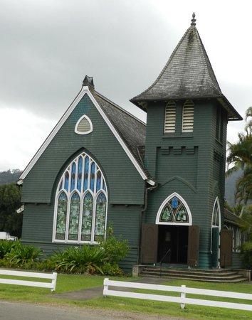 Kaua'i Marriott Resort: Church in Hanalei