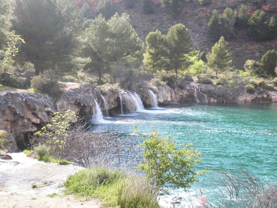 Ruidera, Spain: Caída de agua