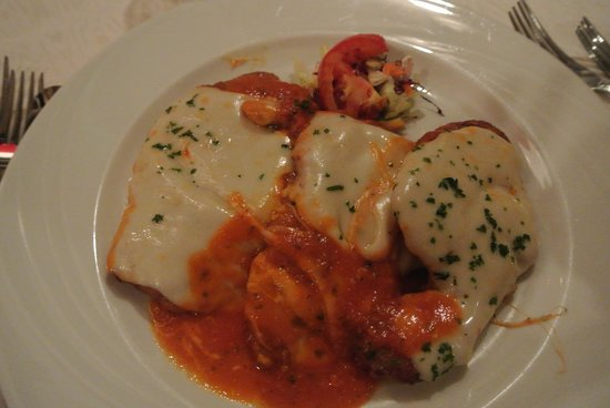 Sole Mare:                   Chicken Parm very good!