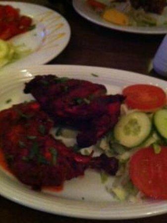 Mela Spice Fusion:                   main course