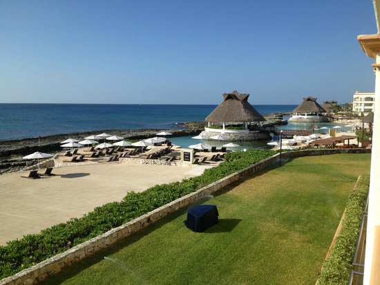 Heaven at the Hard Rock Hotel Riviera Maya:                   View from our Presidential Suite