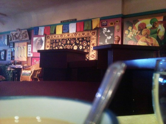 The Dream Cafe: partial view from my table