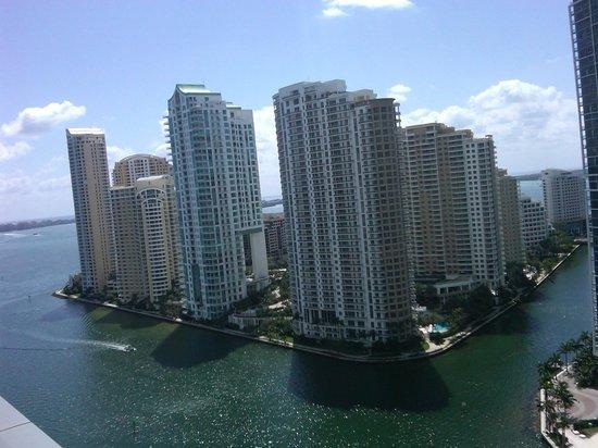 JW Marriott Marquis Miami: Vista desde la pieza