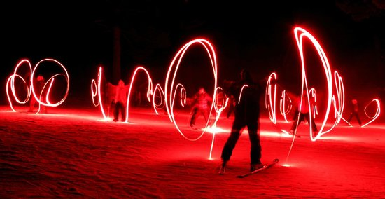 Pine Mountain Resort: New Years Eve torch light parade