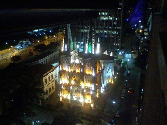 Hotel ibis Rio de Janeiro Centro: Vista noturna do Quarto 977