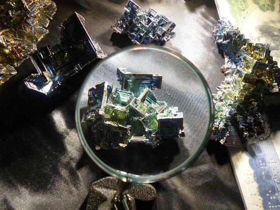 Treasures of the Earth:                                     Bismuth