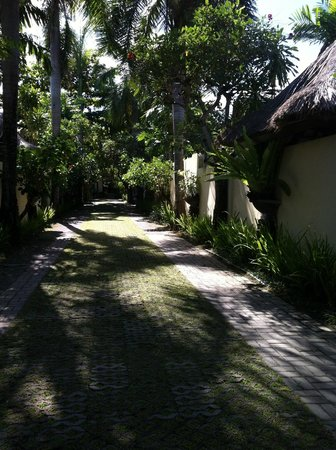 The Seminyak Village:                                     Driveaway