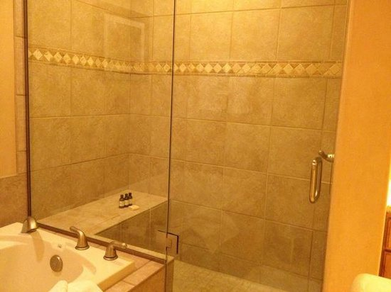 Fairmont Heritage Place, El Corazon de Santa Fe: Shower in MBR