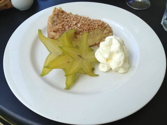 Koru Cafe:                                     Coconut cheesecake... delicious!