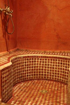 Hotel Dar Zitoune: La douche hammam
