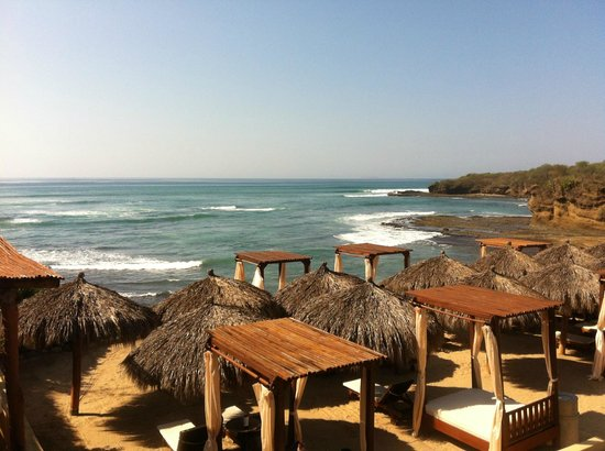 The Royal Suites Punta de Mita: EN EL BALCON DEL RESTAURANTE DE ROYAL SUITES PUNTA MITA BY PALLADIUM