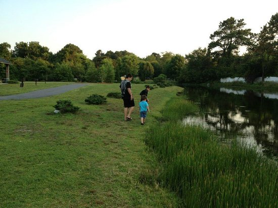 Francis Scott Key Family Resort:                                     Fishing Pond
