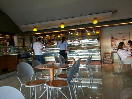 Pasteria Giacomin :                   Hip cafe with great bakery selections.