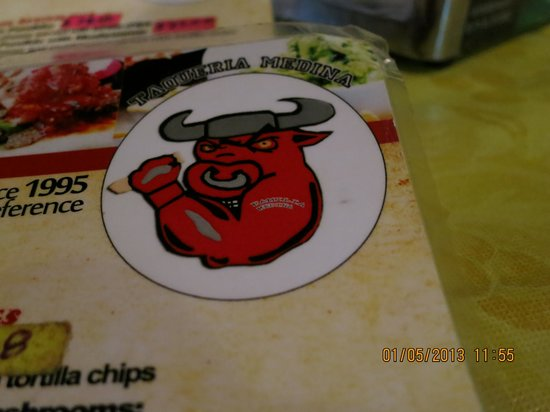 Taqueria Medina: menu