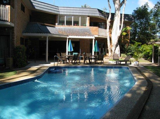 Noosa Yallambee Holiday Apartments:                   Gorgeous pool