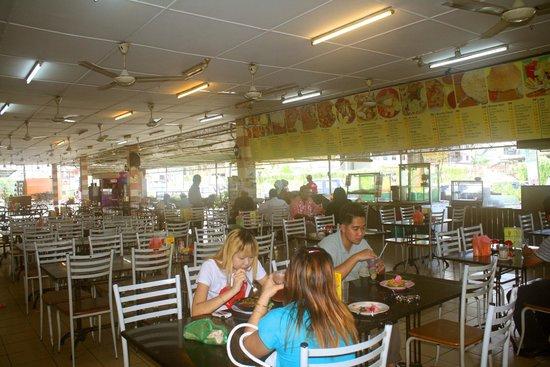 Wisma BTC Restaurant:                   Wisma Restaurant View