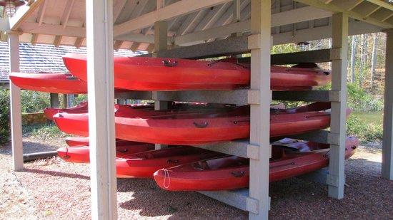 The Lodge and Spa at Callaway Gardens: Kayak rentals
