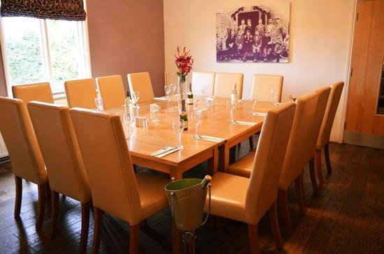 The Griffin at Plumtree:                   private dining area