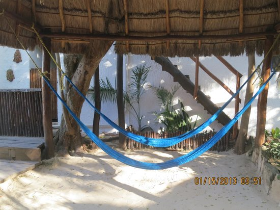 Amar Inn B&B: nice relaxing hammock area