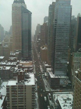 InterContinental New York Times Square: Vista do 35º nadar