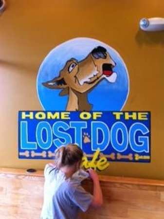 Lost Dog Cafe:                                     Nice Logo and friendly atmosphere