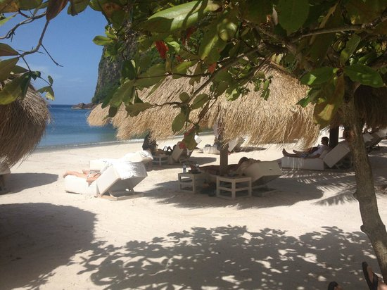 Sugar Beach, A Viceroy Resort:                                                       Day at the beach