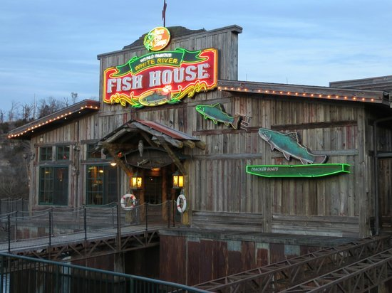 White River Fish House entrance