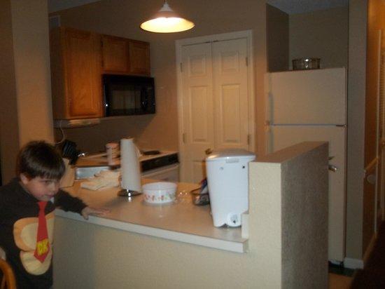 Laurel Crest:                   kitchen area