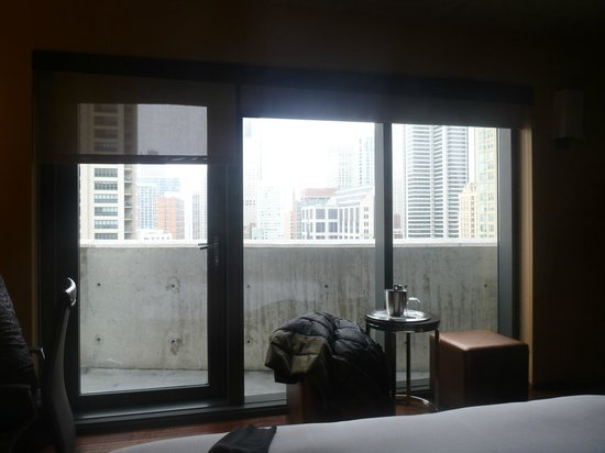dana hotel and spa: floor to ceiling windows