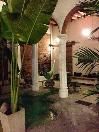 Casa Verde Hotel: Malerischer Innenhof