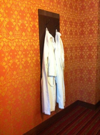 Grand Hotel Amrath Amsterdam:                                     Robes