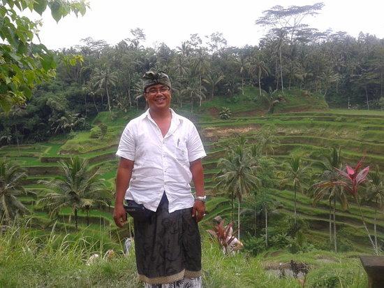 Seecobali Tours : Me at Tegallalang rice teraces, Bali
