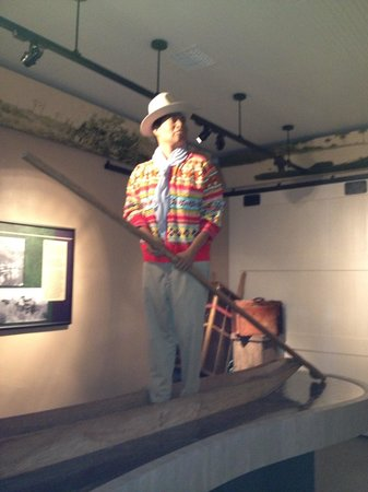 Naples Depot Museum:                   Indian