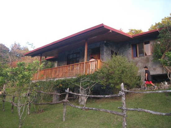 "Arco Iris Lodge:                   View of ""The Casa"" as you walk up the pathway."