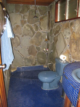 "Arco Iris Lodge:                   Bathroom in ""The Casa."""