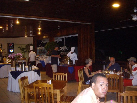 BEST WESTERN Jaco Beach All Inclusive Resort:                   Dinner buffet