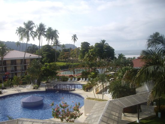Best Western Jaco Beach All Inclusive Resort:                   view from 4th floor terrace