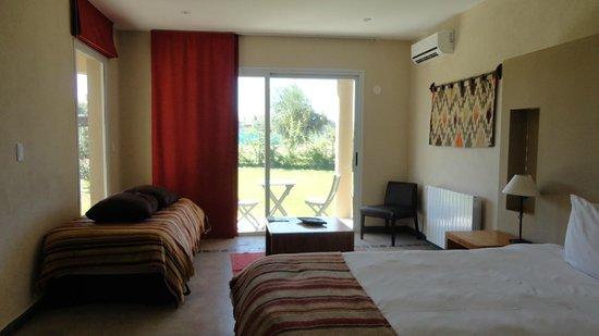 Villa Mansa Wine Hotel & Spa : Luminosa y amplia