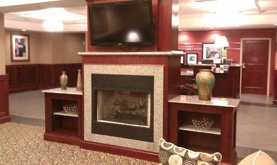 Hampton Inn & Suites Norfolk-Airport: sitting area near desk